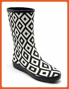 9b90f2a40e6 Corkys Womens Lightning Rain Boot (9 B(M) US) - Boots for