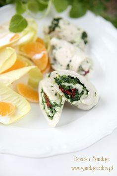 turkey roulade with spinach and sun-dried tomatoes