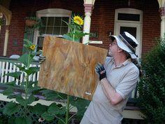 Wayne Stratz and glass.  47  365/365  = 48 by stratoz, via Flickr