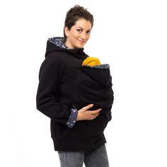 Mama Baby Tragejacke Känguru Jacke Fleece Tragejacke Baby