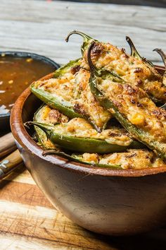 Spicy Crab Poppers -This delicious jalapeño poppers recipe will impress. It's a simple appetizer that's packed with buttery fresh crab & has a bit of kick. Traeger Recipes, Grilling Recipes, Cooking Recipes, Smoker Recipes, Crab Recipes, Appetizer Recipes, Seafood Appetizers, Seafood Boil, Egg Recipes
