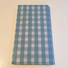 Blue Gingham Tissue Paper by PetalandForrest on Etsy