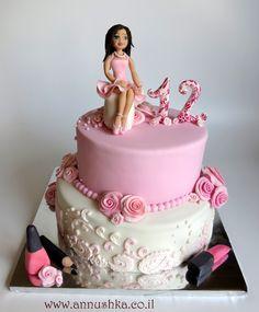 עוגת בת מצווה Bat Mitzvah Cake