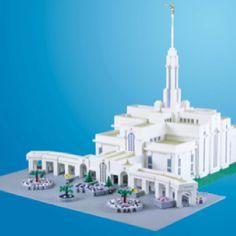 LEGO Mt. Timpanogos Temple
