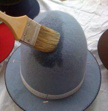 Felt Hatmaking Techniques  Historical hat making site