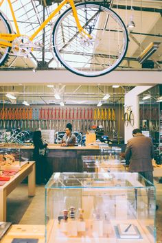 Shinola bike shop in Detroit, Rebuilding Detroit