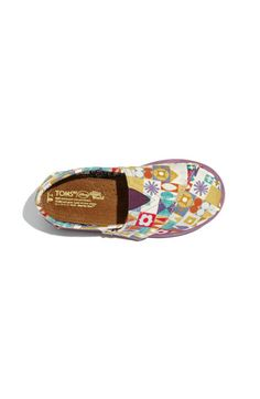 Disney It's a small world toms shoes for toddler and baby