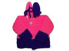 Girls 0 to 3 Month Newborn Sweater and by MrsSchafferCreations, $22.00