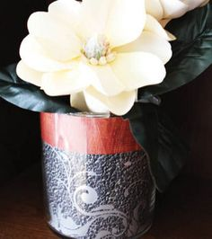 Paper Cylindrical Vase