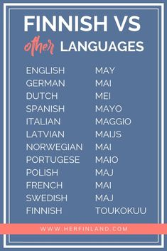 Finnish language basics start from the fact that Finnish comes from another language family than most other European languages Finland Facts, Learn Finnish, Finnish Words, Finnish Language, Thinking Of You Today, Finland Travel, European Languages, Peace On Earth, Education System