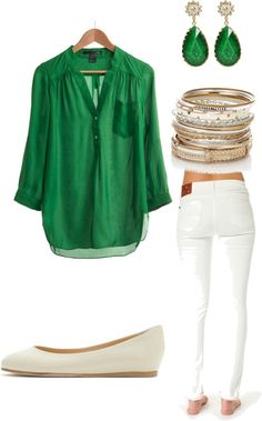 """Green"" by sand-witch on Polyvore"