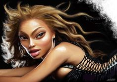 Beyonce by: Ali Miraee http://www.toonpool.com/artists/Ali%20Miraee