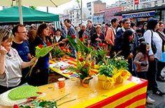 23rd April in Barcelona: Sant Jordi