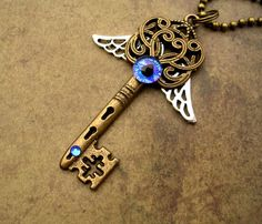 Custom Steampunk Key for Lord Dave by *LadyPirotessa on deviantART