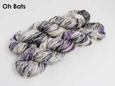 The highest quality hand-dyed, just for you. Sock Yarn, Mulberry Silk, Hand Dyed Yarn, Things That Bounce, Lilt, Knitting, Bats, Purple, Porn