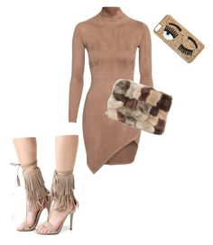 """""""Fursuede me"""" by lokardashian on Polyvore featuring Topshop and Chiara Ferragni"""
