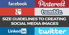 When designing an image for your social media assets, size and dimension matters.