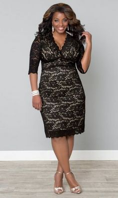27 Plus Size Wedding Guest Dresses {with Sleeves} - Plus Size Fashion for Women… Plus Size Wedding Guest Dresses, Plus Size Summer Dresses, Plus Size Outfits, Wedding Dresses, Coctail Dress Plus Size, Plus Size Fashion For Women, Plus Size Womens Clothing, Clothes For Women, Female Clothing