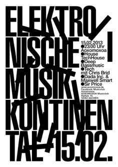 Elektronische Musik Kontinental