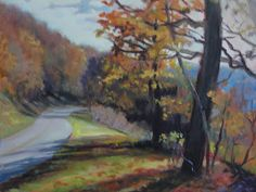Blue Ridge, Daily Painter:  Janet Wimmer: Art and Music in the Mountains 2015