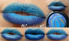 #blue Make Up, Blue, Maquillaje, Maquiagem, Makeup, Bronzer Makeup