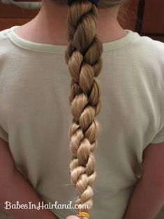 Summer Braid Inspiration   hair   Pinterest   Cube  Layering and     How to do a Hawser Twist Braid   Video