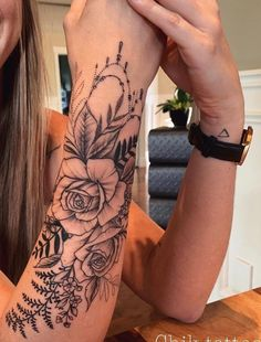 Achingly Beautiful Tree Tattoos – TattooBlend – foot tattoos for women Half Sleeve Tattoos Forearm, Rose Tattoo Forearm, Forarm Tattoos, Small Forearm Tattoos, Tattoos For Women Half Sleeve, Foot Tattoos, Body Art Tattoos, Girl Tattoos, Small Tattoos