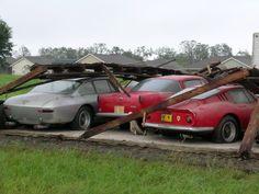 Ferrari Barn Finds