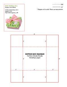 Bottom pattern for paper box
