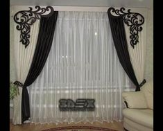 the best types of curtains and curtain design styles 2019 brown