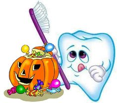 dental tooth bug picture | Halloween is coming soon! That means your little monster or witch will ...