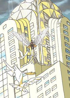 Castiel's true form is... by nako-2.deviantart.com on @deviantART