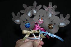 Mini Reindeer Lollipops