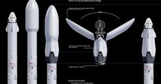 Spacex reusable upper stage of Falcon 9 orbital class rocket. Asteroid Mining, Nasa Spacex, Falcon 9 Rocket, Arte Sci Fi, Eco City, Arc Reactor, Spaceship Design, Space Toys, Concept Ships