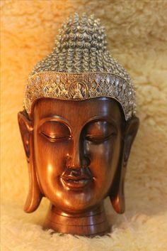 $99.99 Large Buddha Head Statue for Meditation rooms, yoga zen sculpture decor. Home decor. Collectibles. #buddha#Buddah. #hindu. . #buddha #vintagelook lovingthyself.net