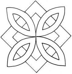 """Pinwheel & Square 7"""""""