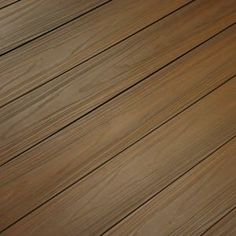 Deck NewTechWood UltraShield Magellan Series 0.9 in. x 5.5 in. x 16 ft. Solid Composite Decking Board in Peruvian Teak with Groove-US01-16-TK at ...
