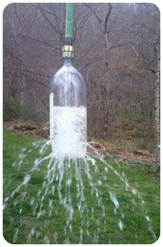 Fun DIY sprinkler for kids!