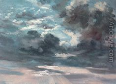 Cloud Study 2 - John Constable