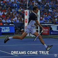 """I hope that one day we will begin to win them also in the Grand Slam, since it seems that the subject is still pending for all young people. Tennis Quotes, Dream Come True, Young People, Sport, Deporte, Sports"