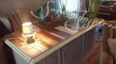 Savanny Inspired refinished desk