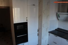 Стильная белая кухня