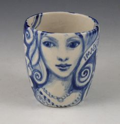 little porcelain cupimagine by PSPorcelain on Etsy
