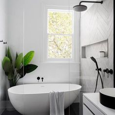 Home Interior Decoration Modern Scandinavian bathroom interior in black and white.Home Interior Decoration Modern Scandinavian bathroom interior in black and white Laundry In Bathroom, Bathroom Renos, Bathroom Remodeling, Paint Bathroom, Bathroom Small, Bathroom Mirrors, Cozy Bathroom, Laundry Rooms, Bathroom Inspo