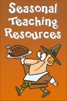 Seasonal Teaching Resources in Laura Candler's Online File Cabinet - Newly Updated!