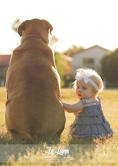 15 inspirações para fotos de bebês/crianças e bichinhos de estimação