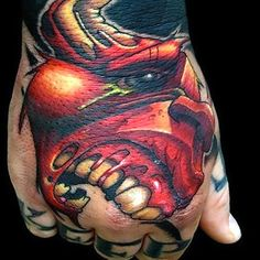 Jesse Smith Tattoo Artist featured on Emerald Rain Tattoo Bull Tattoos, Weird Tattoos, Dope Tattoos, Tribal Tattoos, Hand Tattoos, Tatoos, Jesse Smith Tattoo, Virginia Tattoo, Rain Tattoo