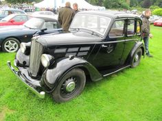 Morris 10 series 3, 1938 at Sherborne Castle classic car show