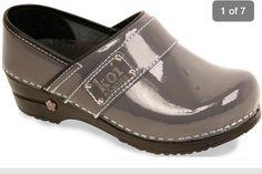 Grey KOI Clogs