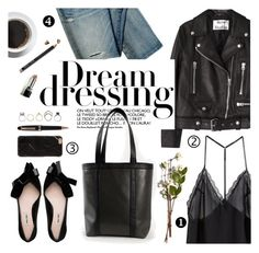 """""""Dream dressing"""" by punnky ❤ liked on Polyvore featuring Acne Studios, Montblanc, Iosselliani, H&M and Bobbi Brown Cosmetics"""